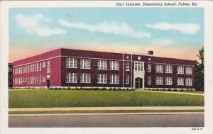 Kentucky Fulton Elementary School Carr Institute