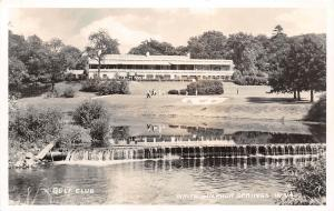C48/ White Sulpher Springs West Virginia WV Postcard c40s RPPC Golf Club