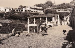 RP, Riding A Donkey, Taxco Gro., Mexico, 1930-1940s