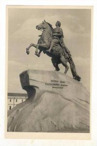 RP  Statue of Czar Peter the Great, 1958   Russia