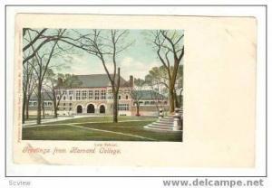 Law School, Harvard, massachusetts, Pre 1907