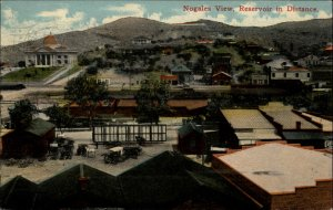 Nogales AZ Birdseye View Resevoir 1916 Used Postcard