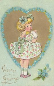 VALENTINE'S DAY: TUCK DAINTY DIMPLES Series No.3 , 1911, # 1