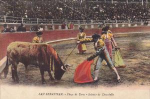 Plaza de Toros - Intento de Descabello , San Sebastian , ESPANA , 00-10s