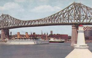 Bridge , Ocean Liner , MONTREAL , Quebec , Canada , 50-60s