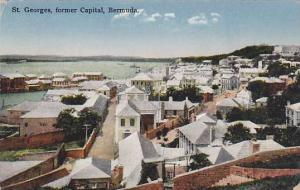 General view of St.Georges, former Capital, Bermuda, 00-10s