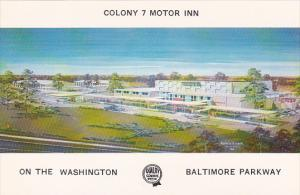Colony 7 Motor Inn Baltimore Maryland