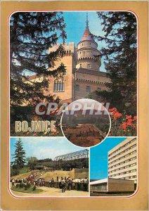 Postcard Modern Hotel Regia Bojnice ZOOLOGICK? zahrada