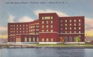 New Jersey Ocean Grove The New Methodist Home On Fletcher Lake