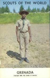 Grenada Boy Scouts of America, Scouting Postcard, Post Cards, Copyright 1968 ...
