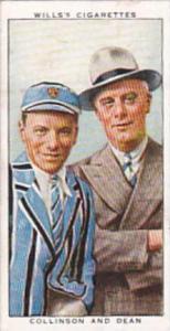 Wills Cigarette Card Radio Celebrities No 39 Collinson &  Dean