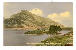 The Island, Crogenen Lake, Near Arthog, Wales, UK, 1900-1910s