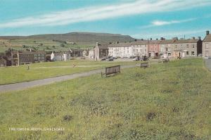 The Green Reeth Swaledale 1970s Postcard