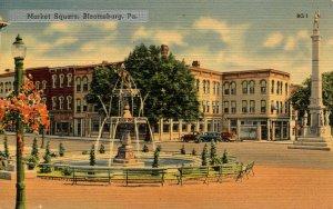 PA - Bloomsburg. Market Square