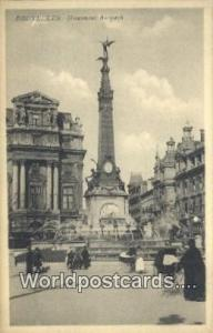 Bruxelles, Belgium, België, la Belgique, Belgien Monument Auspach  Monument ...