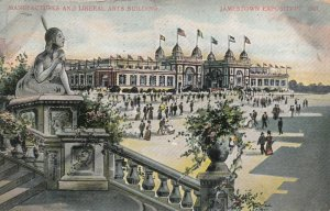 JAMESTOWN , Virginia, 1907 Exposition; Manufactures & Liberal Arts Building