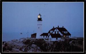 Maine, Portland Head Light, Casco Bay Portland, Lighthouse, Phare
