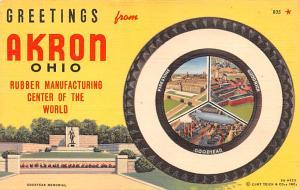 Rubber Manufacturing Center, Firestone, Goodrich, Goodyear Advertising Unused