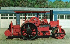 Postcard 1924 Buffalo-Springfield Steam Roller Unposted FPC.