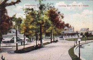 Looking From Casino To Lakeside Philadelphia Pennsylvania 1909
