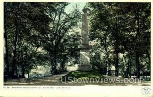Battle Ground Monument Concord MA 1912