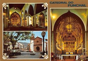 Portugal Catedral do Funchal Cathedral Interior Auto Vintage Cars