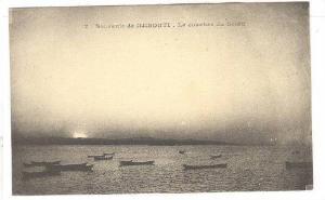 Le Coucher Du Soleil, Souvenir De Djibouti, Africa, 1900-1910s