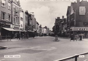 RP:  SLOUGH,  England , 1930-40s; High Street, store fronts
