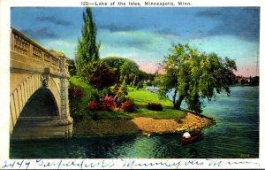 Minnesota Minneapolis Lake Of The Isles 1936