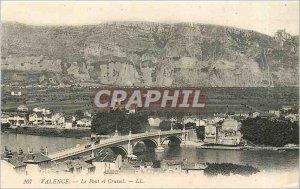 Old Postcard Valencia Bridge and Crussol