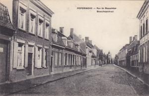 POPERINGE, West Flanders, Belgium, 1900-1910's; Rue Des Boeschepe