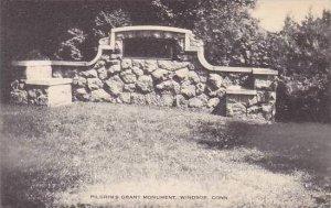 Connecticut Windsor Pilgrims Grant Monument Artvue