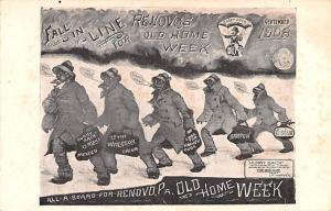 Renovo, PA, USA Old Home Week 1908 Unused