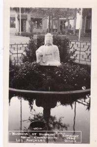 RP,Buddha At Bubbling Pool, Los Angeles , California , 30-50s