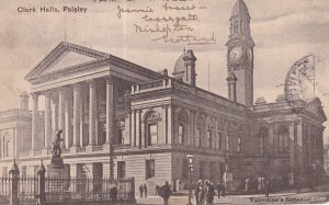 PAISLEY, Scotland, PU-1905; Clark Halls