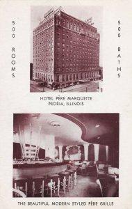 PEORIA , Illinois , 1940-50s ; Hotel Pere Marquette
