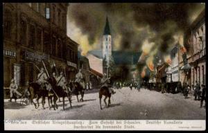 Germany Austria WWI Battle of Schaulen Eastern Front Patriotic Gloria Vikt 66275