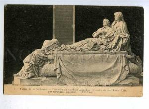 183978 FRANCE Sorbonne Tomb of Cardinal Richelieu Vintage