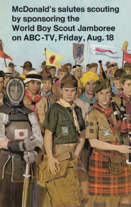 McDONALDS salutes Scouting (Boy Scouts) , Farragut , Idaho , 40-60s