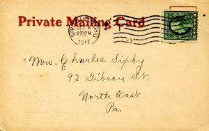 Private Mailing Card - Crowell Publishing Co., 1917