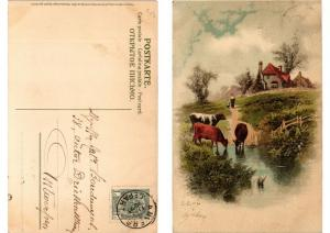 CPA Heimatsklange Meissner & Buch Litho Serie 1350 (730713)