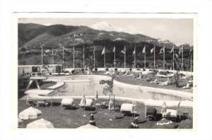 RP; Caracas , Venezuela, 40-50s : Piscina del Hotel Tamanaco