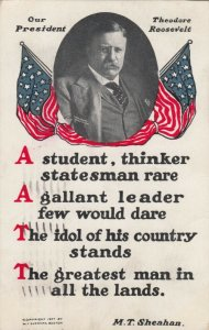 WASHINGTON D.C., 1908 ; Political ; Our President Theodore Roosevelt