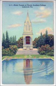 Hindu Temple, Fl Southern College, Lakeland Fl
