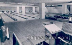 Lake Shore Club of Chicago, USA, Bowling Ailey Postcard Postcards  Lake Shore...