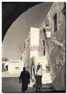 Old Postcard A Street Djerba D & # 39Houmt Souk
