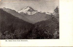 Washington Mt Baker From Goat Mountain
