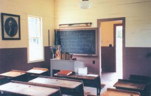 One Room Schoolhouse Mendon NY New York Festival on Green Special Cancel pm 2000