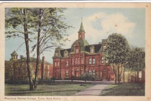 Provincial Normal School , TRURO , Nova Scotia , Canada , PU-1952
