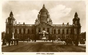 UK - Ireland, Belfast. City Hall      *RPPC